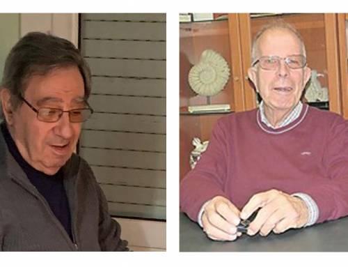 Jaume Pascual i Manel Bagunyà, treballadors incansables i prolífics del somriure a la cara i al cor.